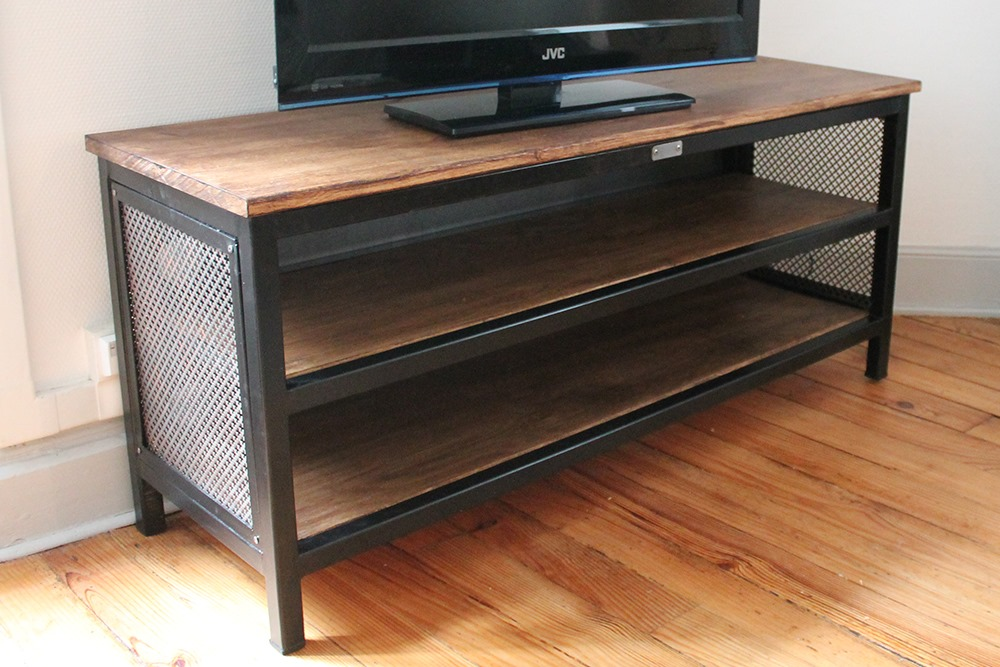 Meuble TV Béarn Métal Design