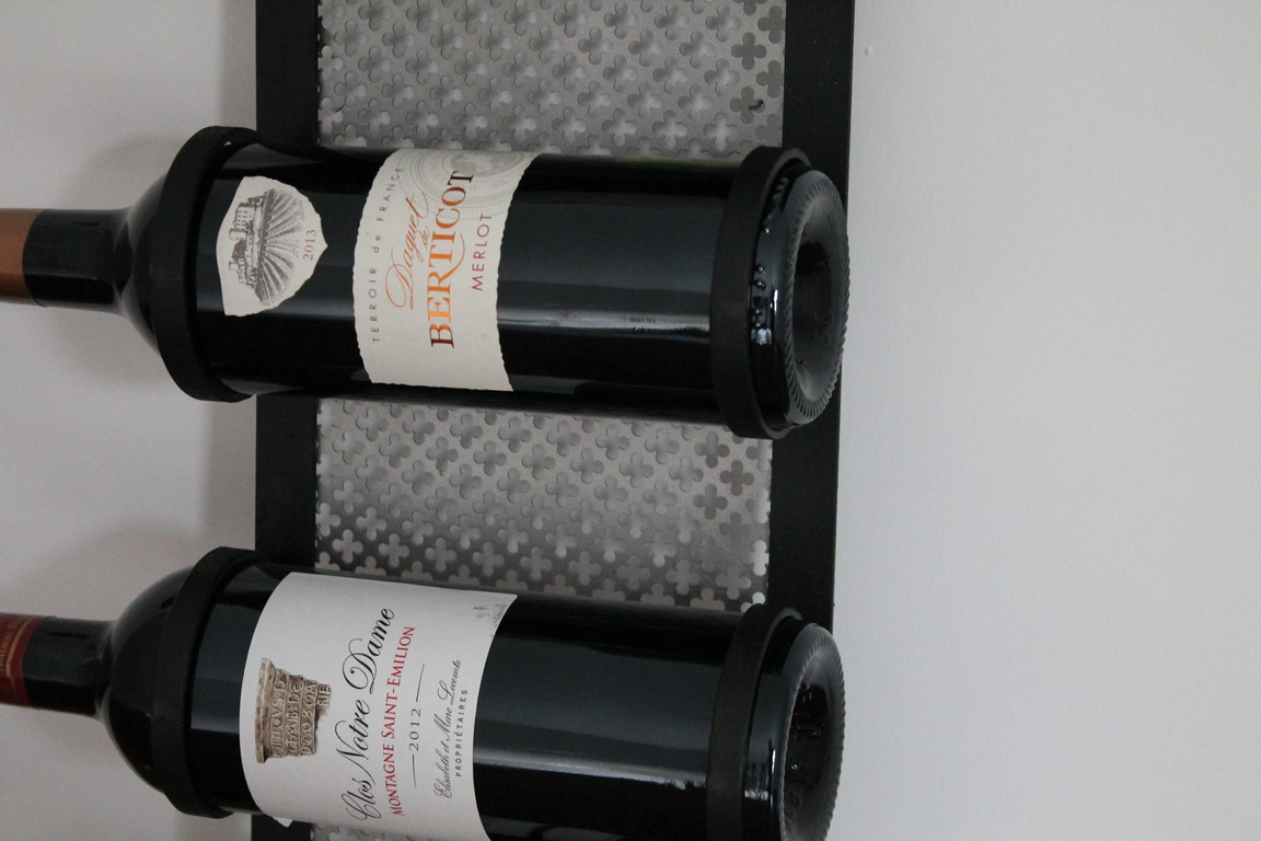 Range bouteilles Béarn Métal Design