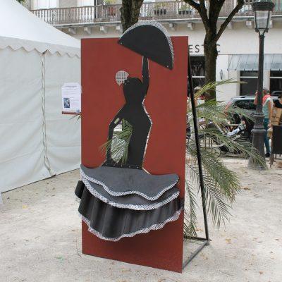 La danseuse andalouse Béarn Métal Design
