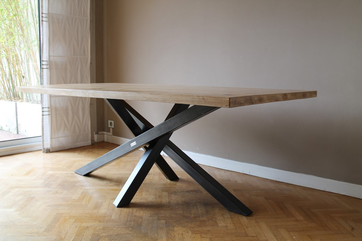 Table à manger Béarn Métal Design