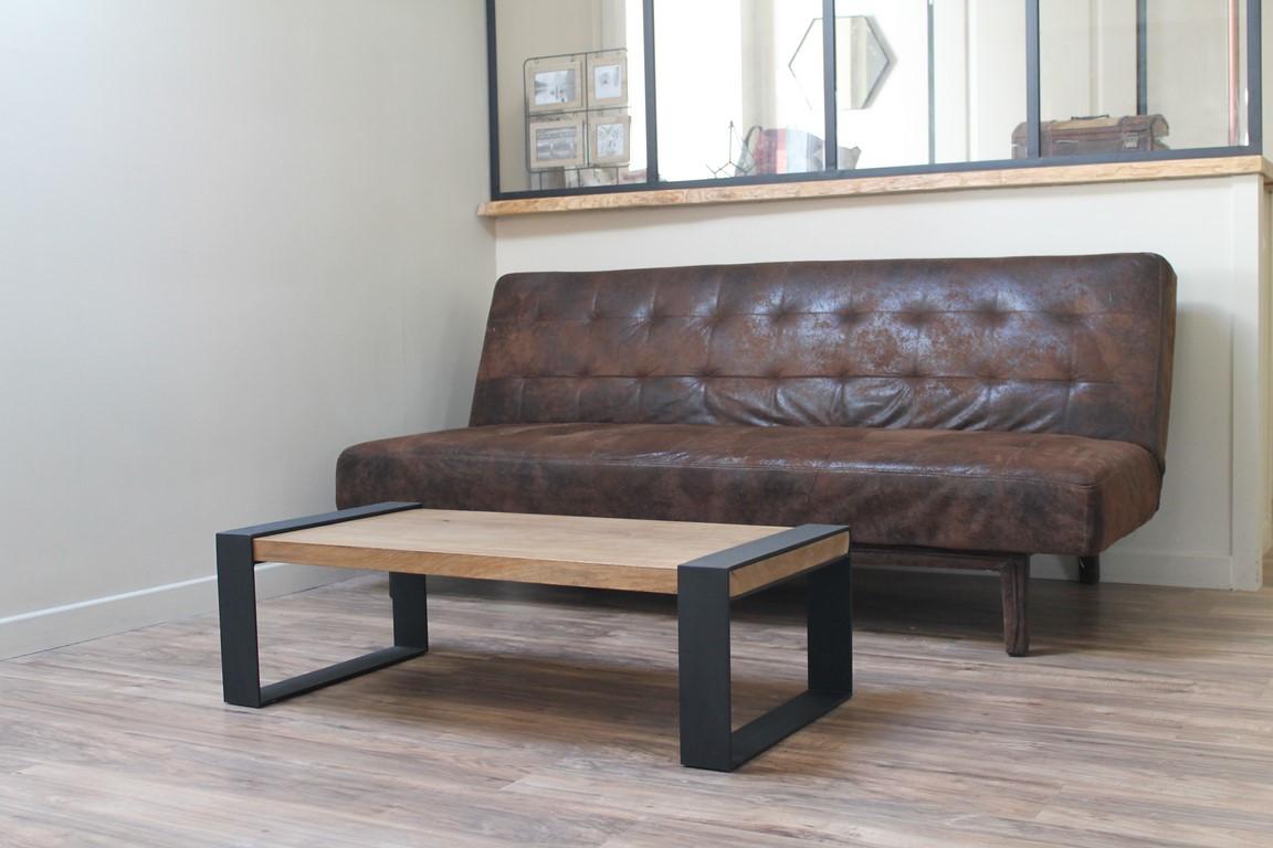Table basse Béarn Métal Design