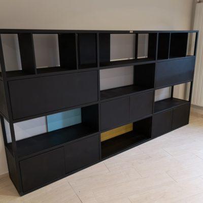 Bibliothèque Béarn Métal Design