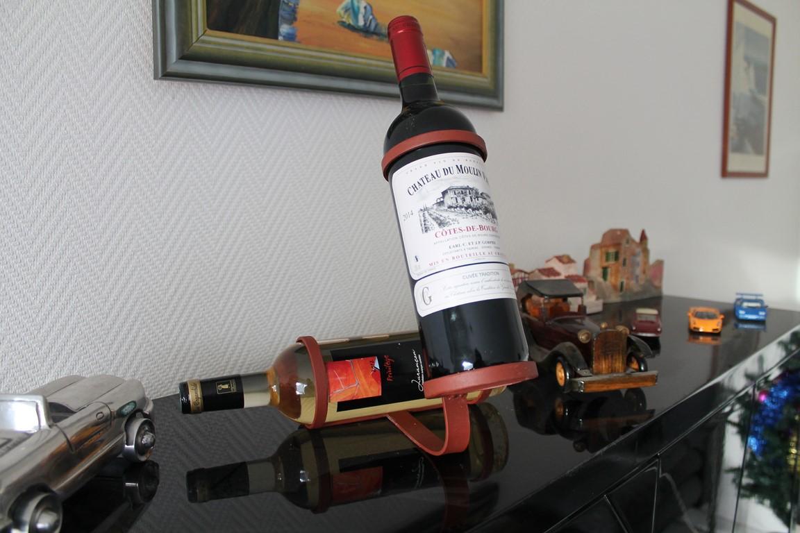 Porte bouteilles Béarn Métal Design