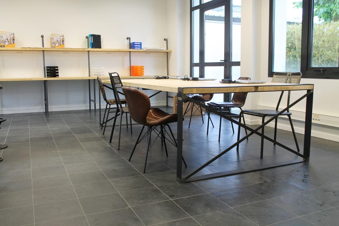 Table bureau Béarn Métal Design