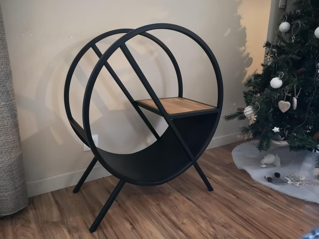 Rack à buche Béarn Métal Design