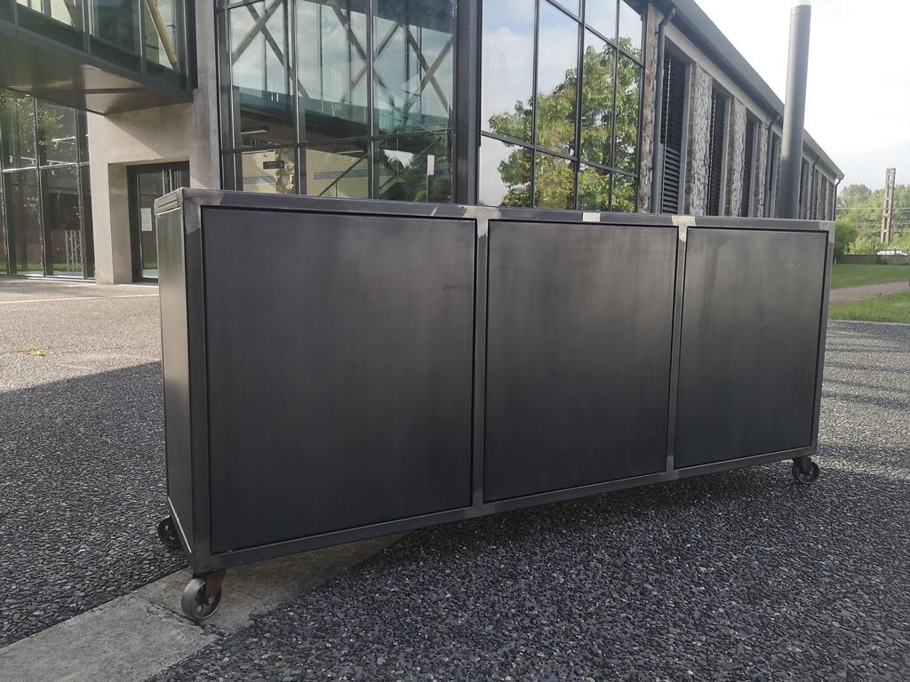 Buffet Béarn Métal Design