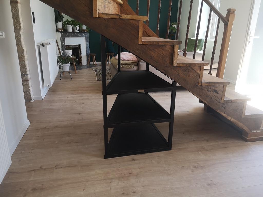 Meuble sous escalier Béarn Métal Design